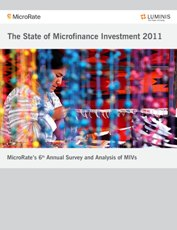 The State of Microfinance Investment 2011